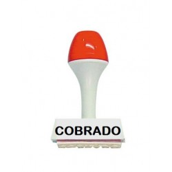 Sello Comercial: COBRADO