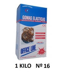 GOMAS ELÁSTICAS 1 KILO Nº16