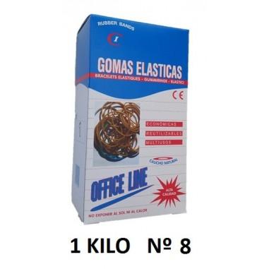 GOMAS ELÁSTICAS 1KILO Nº8