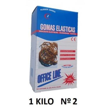GOMAS ELÁSTICAS 1KILO Nº2