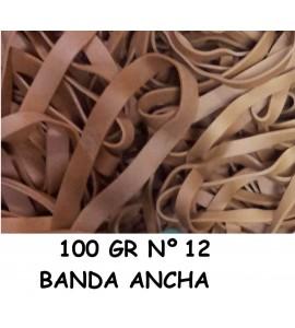 GOMAS ELÁSTICAS 100GR ANCHA Nº12