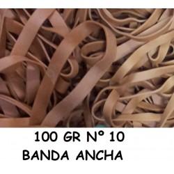 GOMAS ELÁSTICAS 100GR ANCHA Nº10
