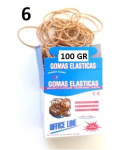 GOMAS ELÁSTICAS 100GR Nº6