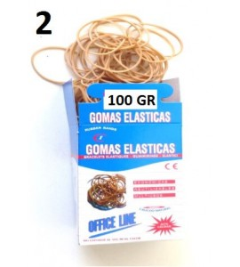 GOMAS ELÁSTICAS 100GR Nº2