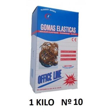 GOMAS ELÁSTICAS 1KILO Nº10