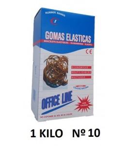 GOMAS ELÁSTICAS 1 KILO Nº10