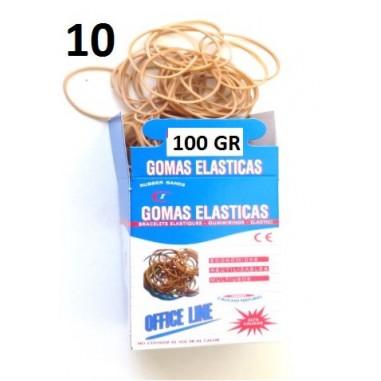 GOMAS ELÁSTICAS 100GR Nº10