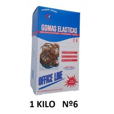 GOMAS ELÁSTICAS 1KILO Nº6