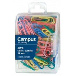 CLIPS COLORES MAKRO 28MM