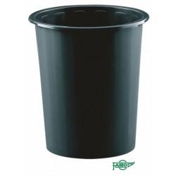 PAPELERA PLASTICO NEGRO Faibo