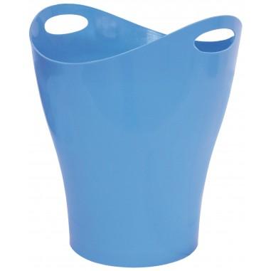 PAPELERA Plus PLASTICO OVAL AZUL CIE