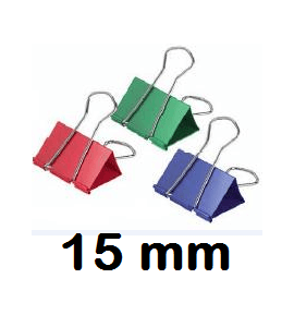 PINZA REVERSIBLE 15 MM COLORES