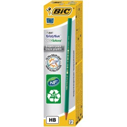 LAPIZ BIC EVOLUTION GRAFITO HB