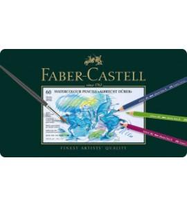 LAPIZ ACUARELABLE FABER CASTELL 60 COLORES