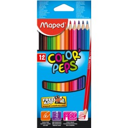 LAPIZ MAPED Color Peps 12 COLORES