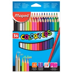 LAPIZ MAPED COLOR PEPS 36 COLORES