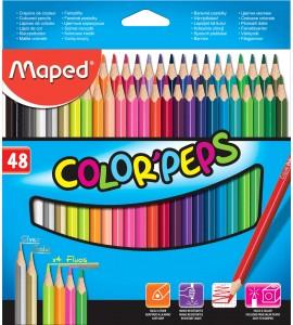 LAPIZ MAPED COLOR PEPS 48 COLORES