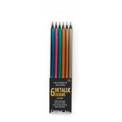 LAPIZ CAMPUS METALLIC TRI 6COLORES