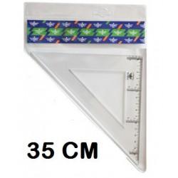 ESCUADRA DFH 35 CM P/10