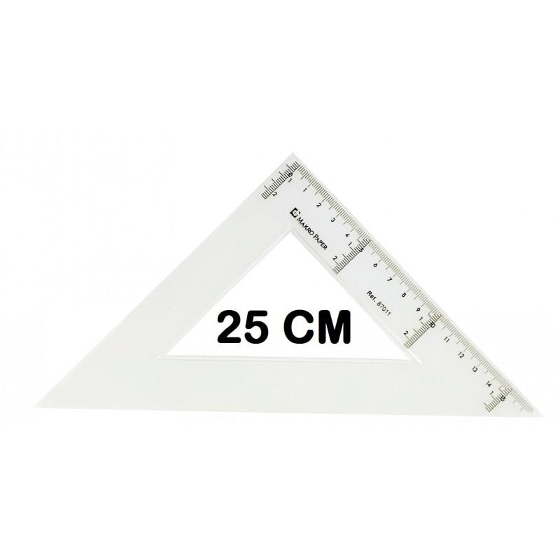 ESCUADRA CAMPUS 25CM P/20