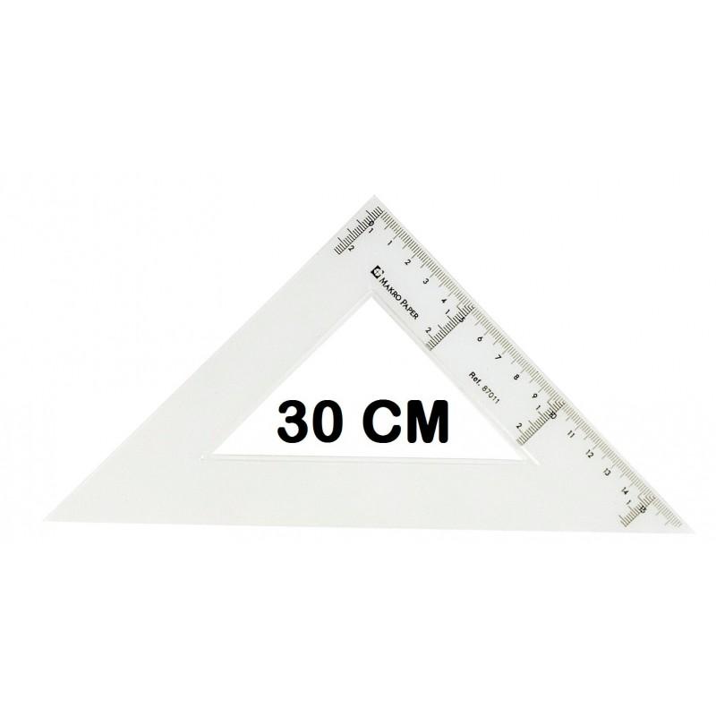 ESCUADRA CAMPUS 30CM P/20