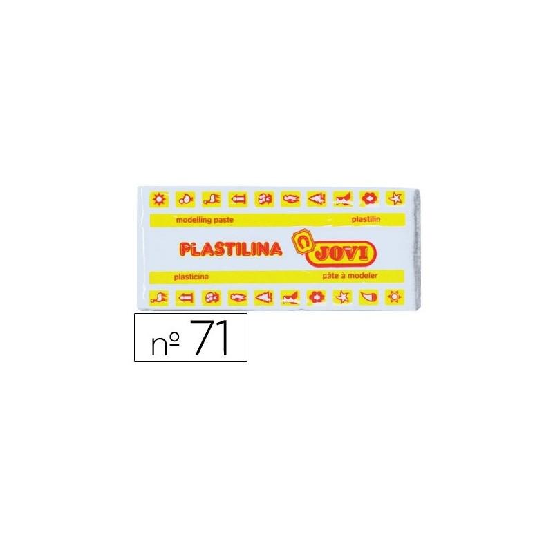 Plastilina unicolor Jovi Nº71 estuche 30 unidades 150gr