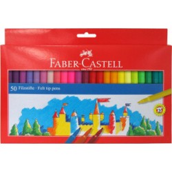 ROTULADOR Faber CASTELL 50 colores