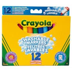 Rotuladores CRAYOLA GRUESOS 12 colores