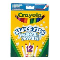 ROTULADORES CRAYOLA FINOS 12 colores