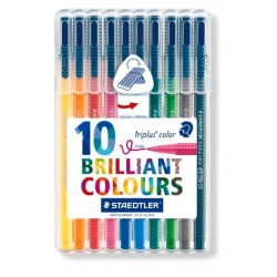 ESTuche 10 ROTULador TRIPLUS COLOR 323