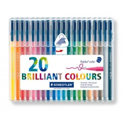 ESTuche20 ROTULador TRIPLUS COLOR 323