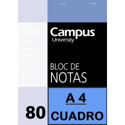 BLOC NOTAS A4 80/H 60G CP(P/5un)