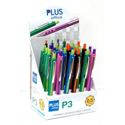 PORTAMINAS PLUS P-3 0,5 COLORES C/24