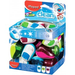 SACAPUNTAS MAPED CLEAN P/24
