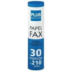ROLLO Papel térmico FAX 210X30X12