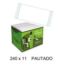 PAPEL PAUTADO AZUL 240X11 C/2500