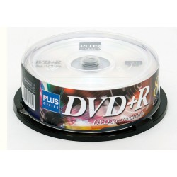 DVD+R PLUS TARRINA 25U