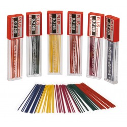 MINAS PLUS OFFICE 0,7 COLOR SURT(24un)