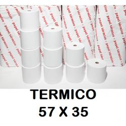 ROLLOS TERMICOS 57X35MM P/10