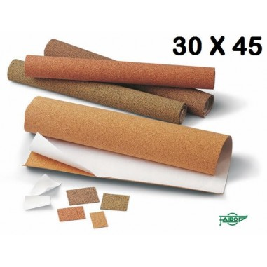 PLANCHA CORCHO ADHESIVO 30X45 P/4