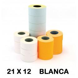 ETIQUETA APLI 21X12 BLANCO P/6