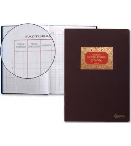 LIBRO MIQUEL RIUS Nº65 FACTURAS RECIBIDAS IVA