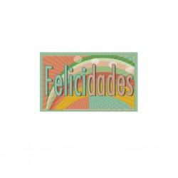 ROLLO ETIQUETAS FELICIDADES