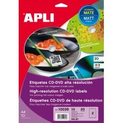 ETIQUETA APLI CD 10039