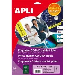 ETIQUETA APLI CD 10328
