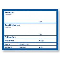 ETIQUETA ROLLO ENVIO 82X109