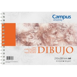 BLOC DIBUJO CAMPUS A4 160G 30H