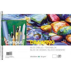 BLOC DIBUJO Campus ARTE LUXE A4 LISO P/5