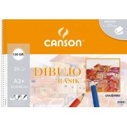 BLOC DIBUJO CANSON BASIK A3 LISO