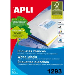 ETIQUETA APLI A4 70X33,8